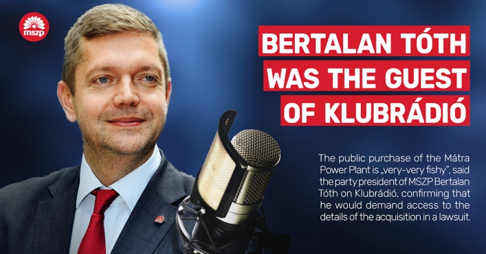 Bertalan Tóth: I Will Start a Lawsuit, Even If It Takes Years!
