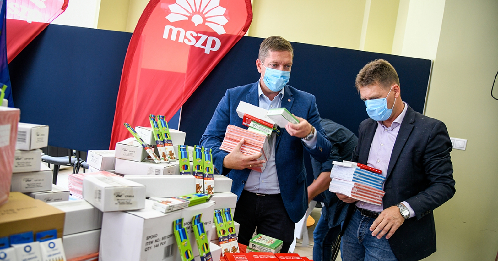 MSZP Donates School Supplies This Time